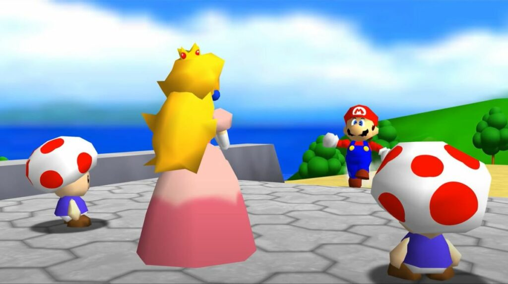 The Mario 64 PC port looks like a full-blown remaster with new 4K texture pack