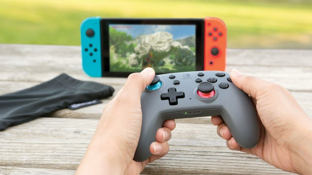 This Officially-Licensed Switch Controller Comes With Motion Controls And Mappable Buttons