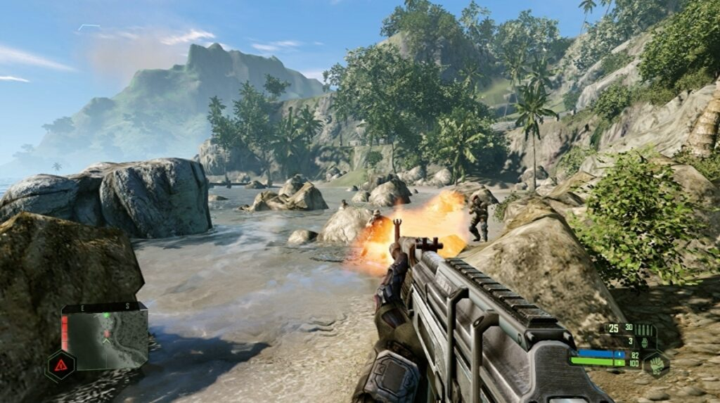 Here's two minutes of Crysis Remastered running on Switch • Eurogamer.net