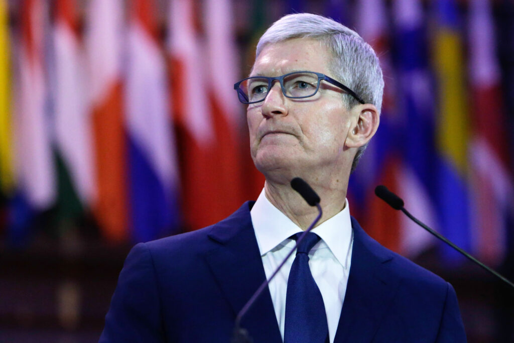 Tim Cook prepared remarks