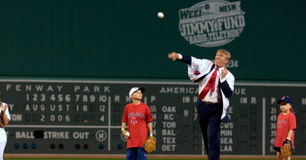 Trump Backs Out of Throwing Pitch at Yankees Game