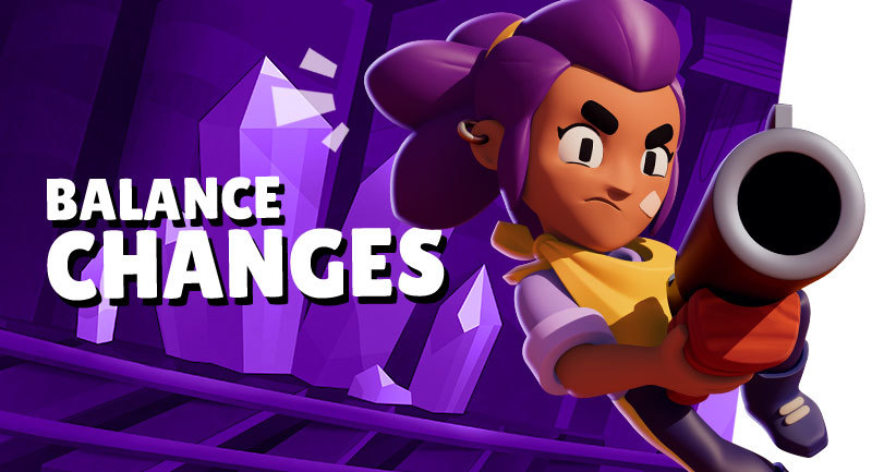 Balance Changes   Brawl Stars