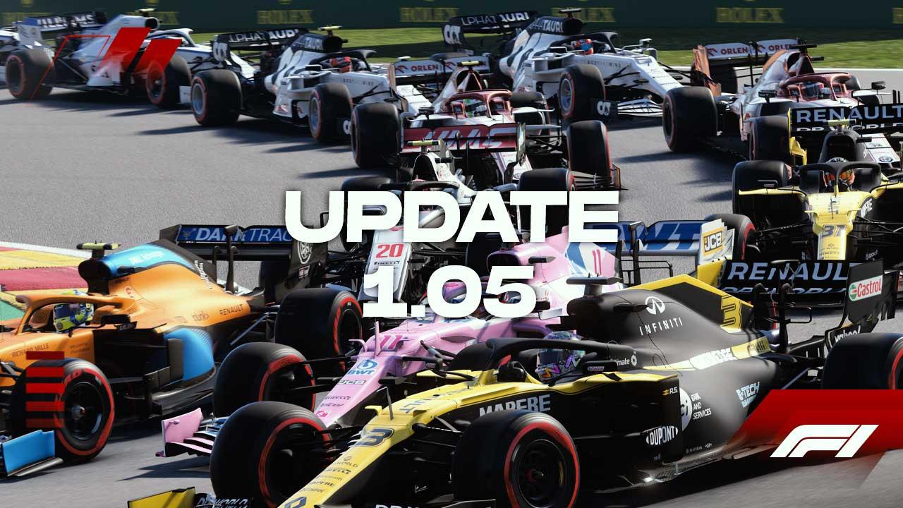 f1 2020 update 1 05