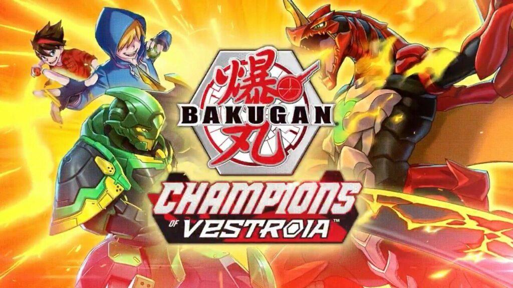 WayForward's New Switch Game Is Bakugan Champions Of Vestroia, Coming In November