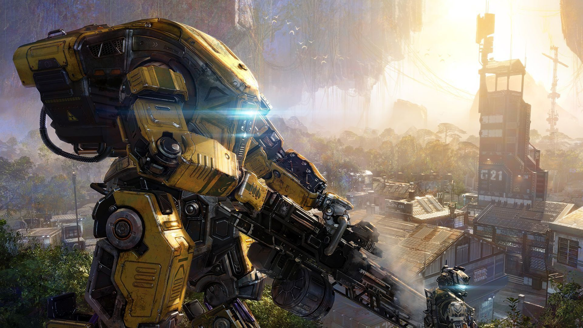 Titanfall 3 could well be on the menu as early as 2022, if EA's new tease is to be believed.
