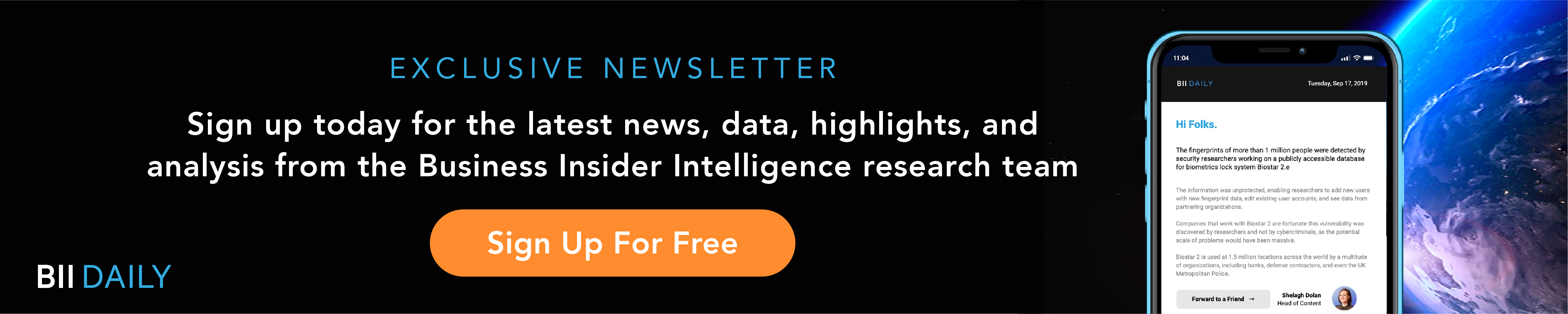 Signup Today: Free Daily Newsletter from Business Insider Intelligence