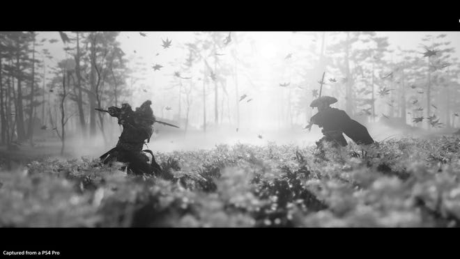 A scene from 'Ghost of Tsushima.'