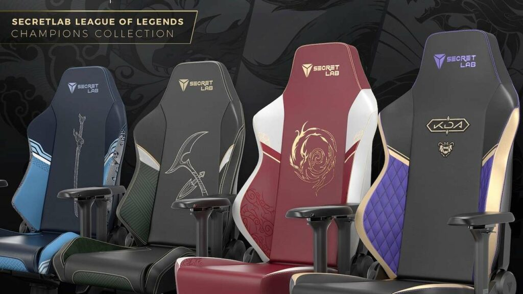 The Secretlab League Of Legends Gaming Chairs Are Gorgeous