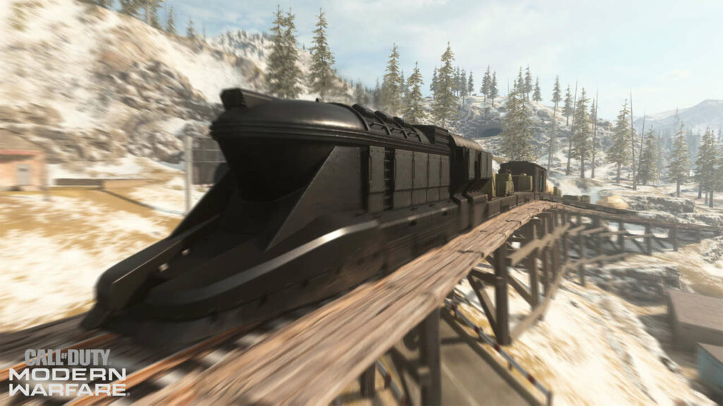"""Call Of Duty: Warzone Dev Has """"Lots Of Ideas"""" For The Train"""