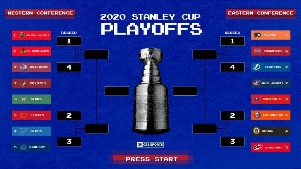 2020 NHL Playoffs bracket: Stanley Cup Playoffs games, schedule, standings, times, TV channels