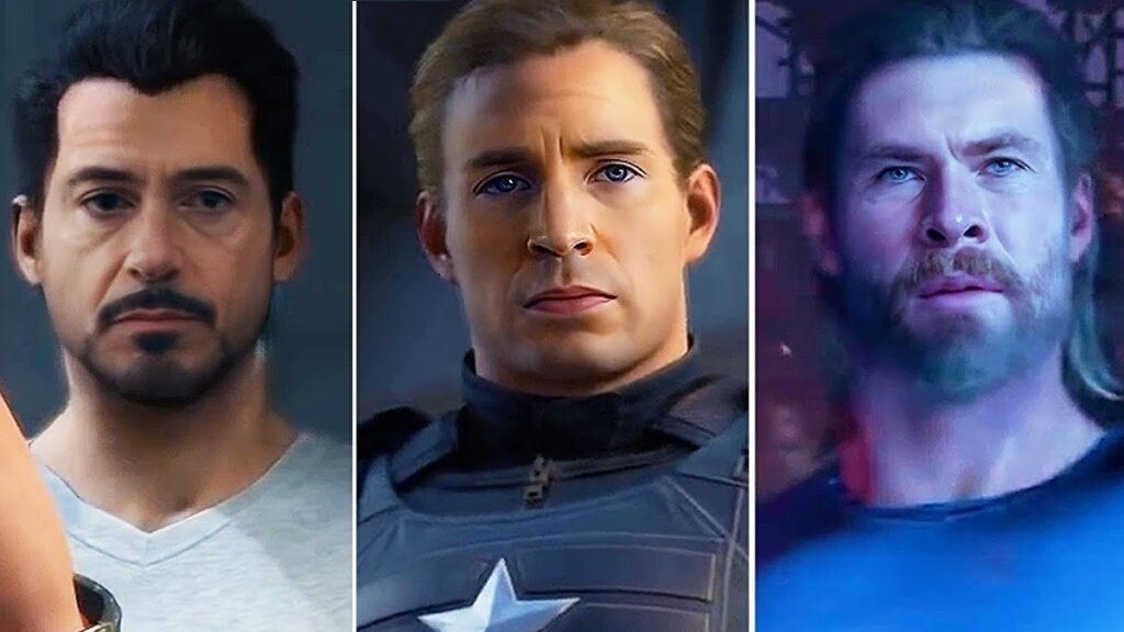 Someone made a deepfake of the Avengers game with movie actor faces • Eurogamer.net