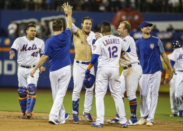 Amazin' Memories: Mets Beat Nationals, Conforto Loses Shirt