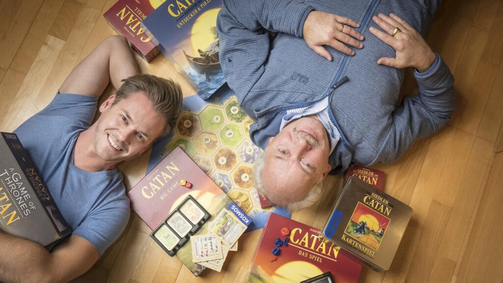 Families Stuck At Home Turn To Board Game Catan, Sending Sales Skyrocketing : NPR