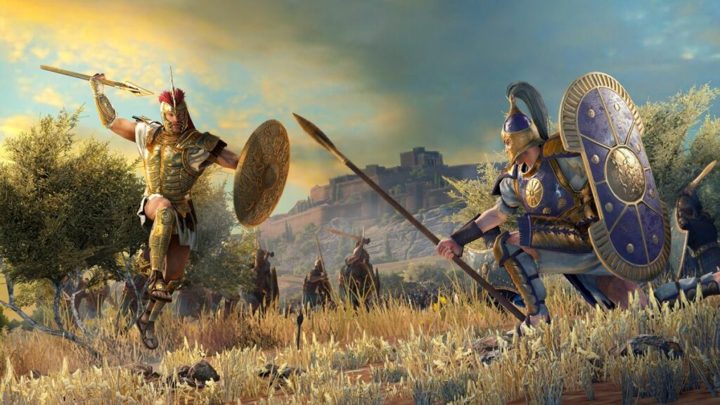 Total War: Troy lays out the Greek and Trojan heroes in detailed videos