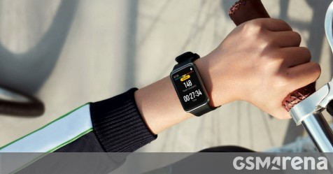 Huawei Watch Fit is official with big rectangular screen