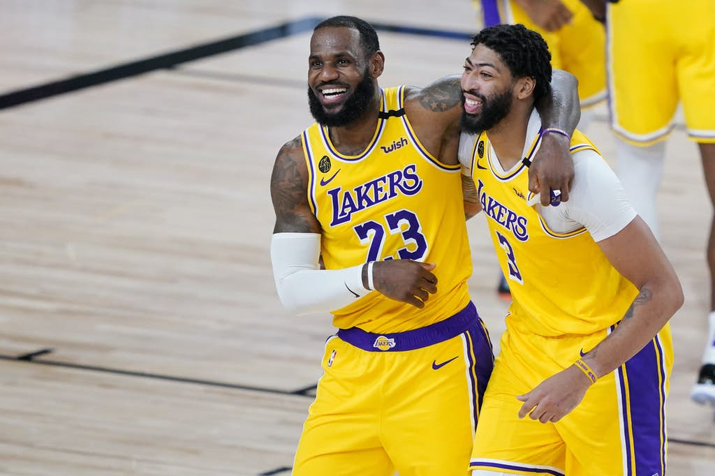 It's All Fun and Games for Anthony Davis and the LA Lakers