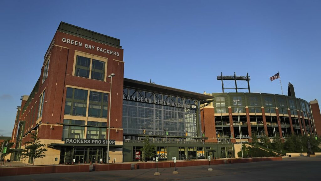 Lambeau Field will not host fans during first two home games this season