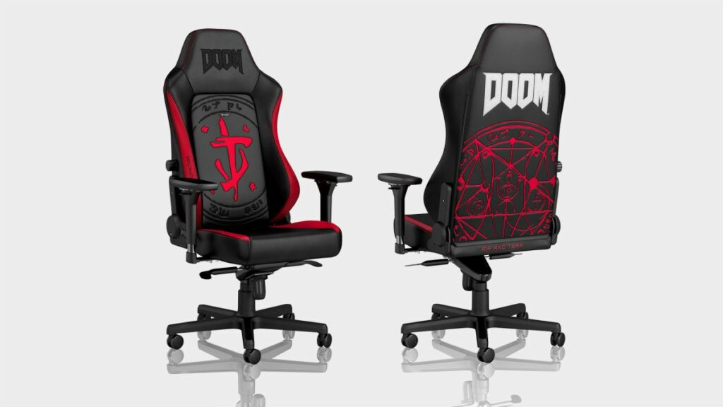 Rip and tear ergonomics a new one with this DOOM gaming chair