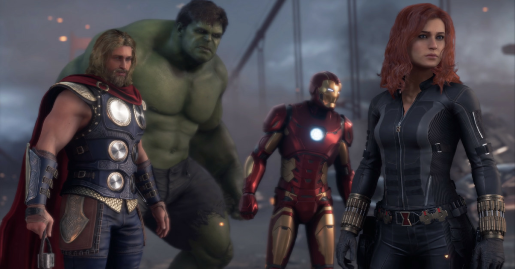 Vendors, cosmetics, and the battle pass in Marvel's Avengers