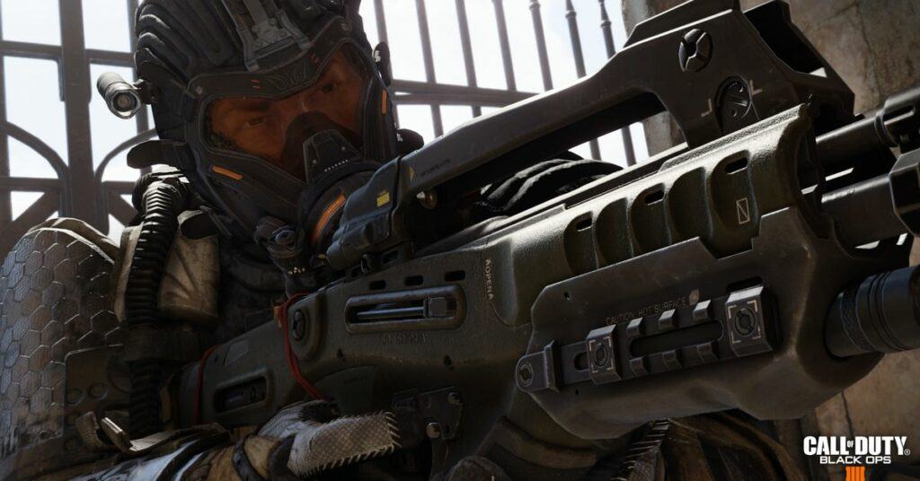This year's Call of Duty is being made by Treyarch