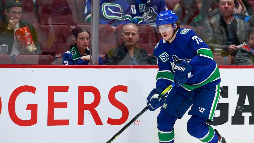 Toffoli out for Canucks in Game 1 of Western First Round against Blues