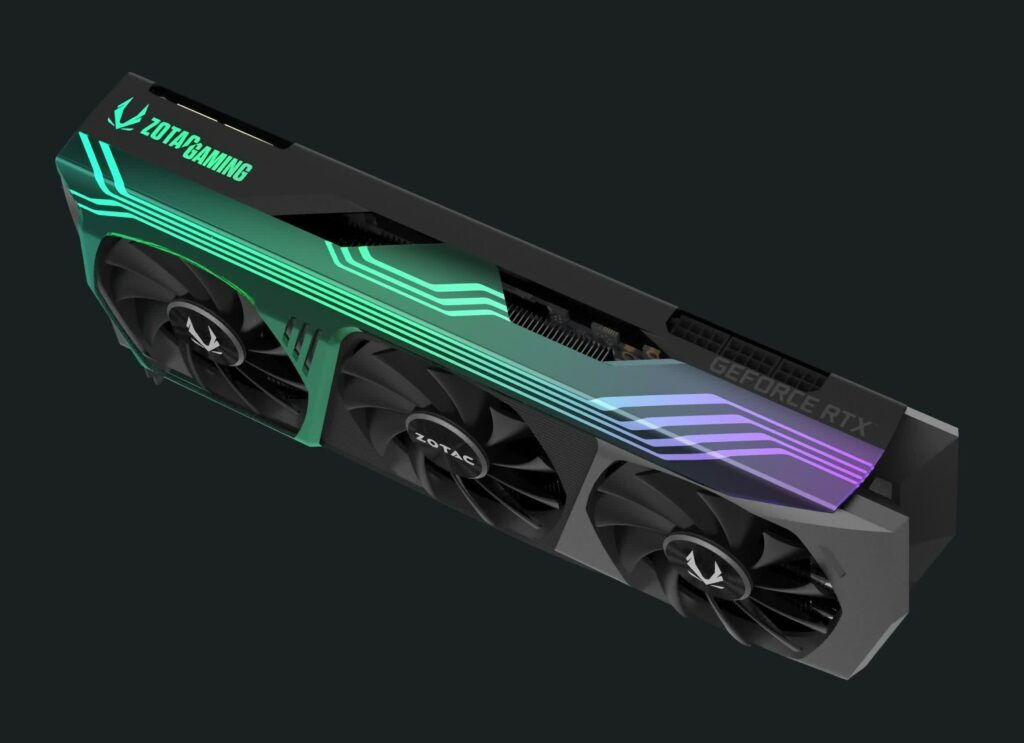 Zotac's RTX 3000 Ampere lineup looks to have leaked