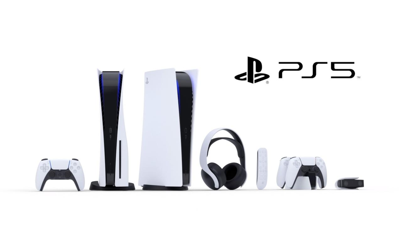 The PlayStation 5 lineup of accessories includes headsets and controller charging stands.