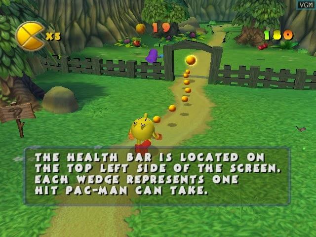 Pac-Man World screenshot.