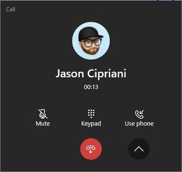 Phone prompt