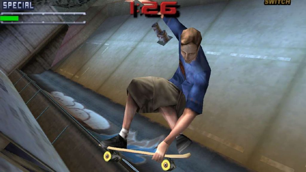 Jack Black is a Tony Hawk Pro Skater 1+2 playable character