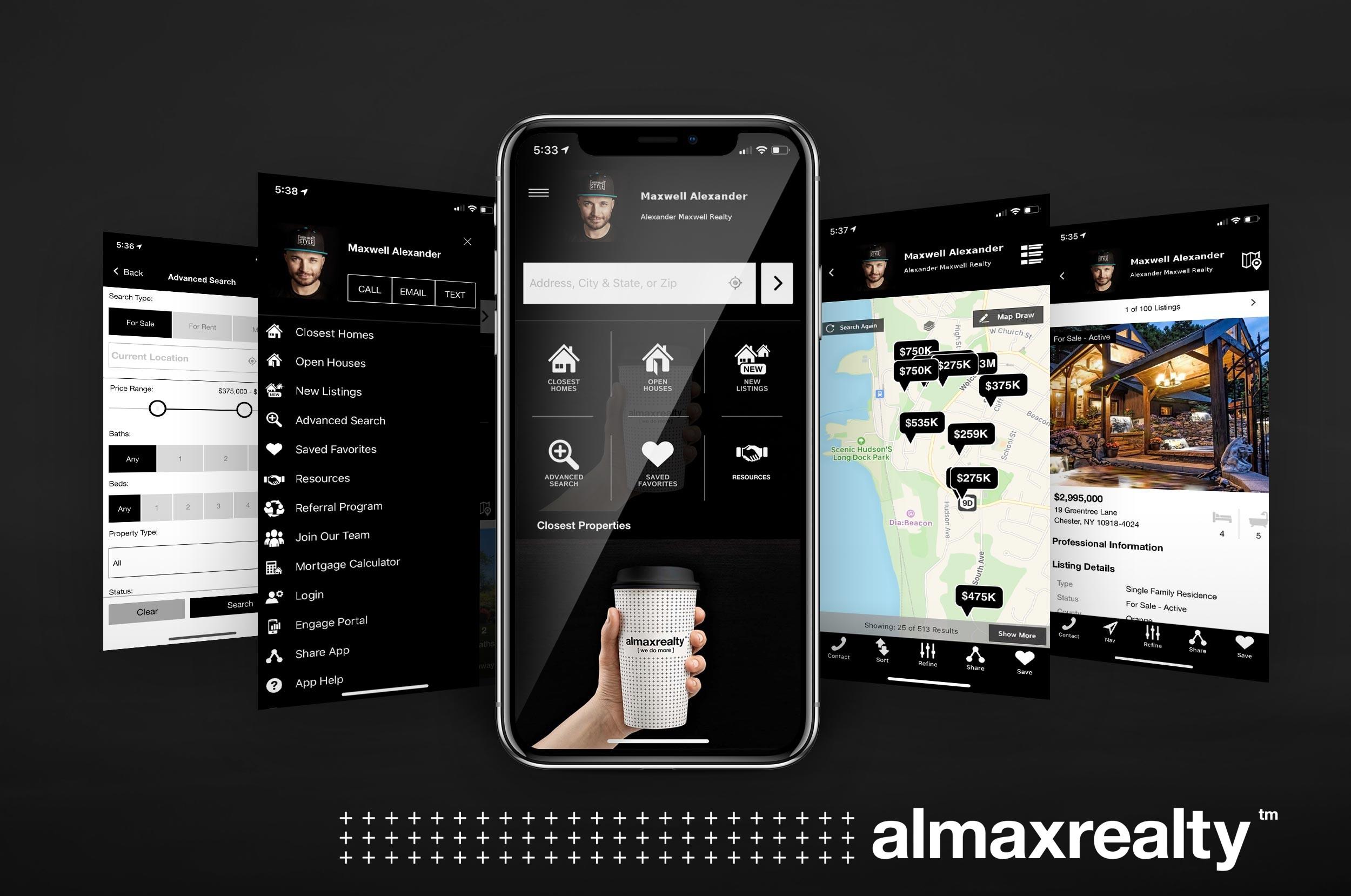 Alexander Maxwell Realty Mobile App-Hudson Valley's Best Realtors