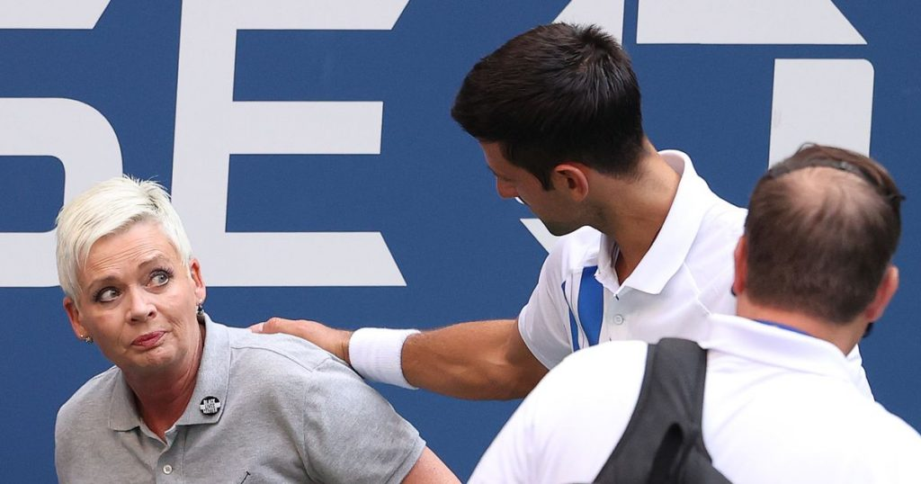 10 other athletes lost after Novak Djokovic disqualified at US Open