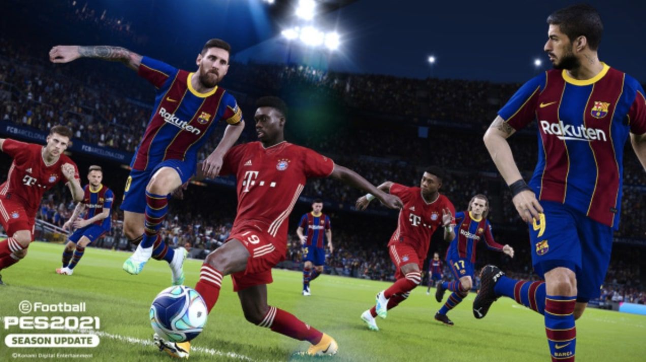 pes 2021 Season Update Messi Ares