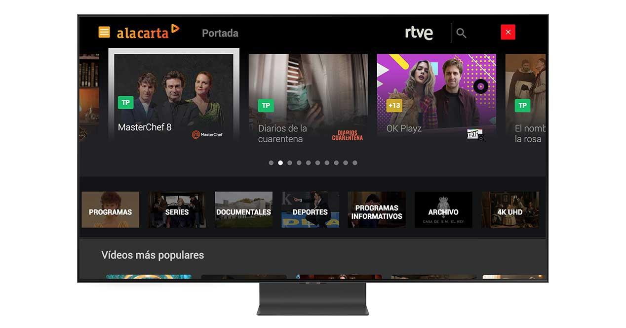 RTV On Demand Samsung Smart TV 2020