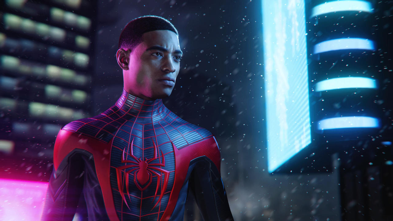 Marvel's Spider-Man: Miles Morales is one of the core PS5 games and will be available on PS4 at launch.