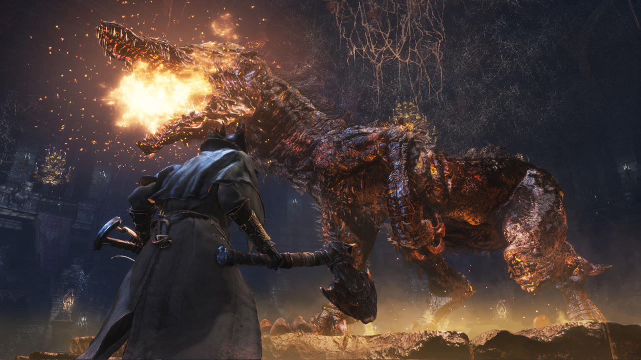 Bloodborne is a popular PS4 game for fans and can be played on PS5 via backward compatibility.