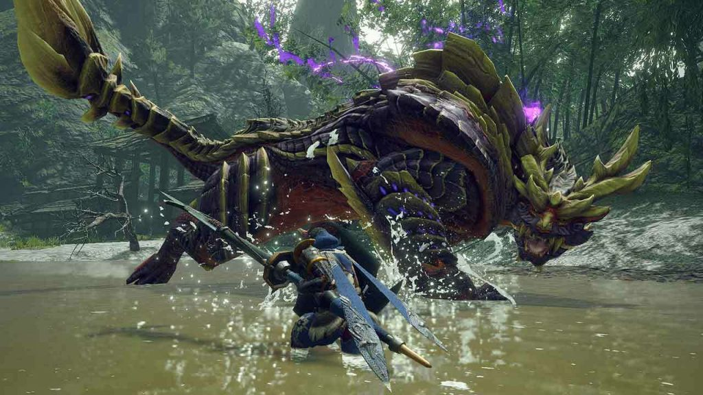 Yes, Monster Hunter Rise is running on Capcom's RE engine