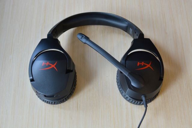 HyperX Cloud Stinger gaming headset.