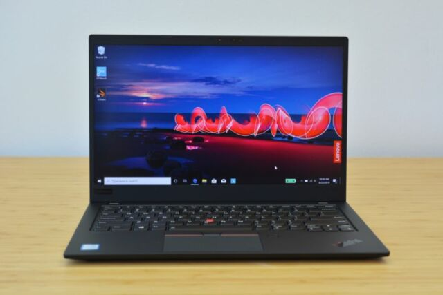 Lenovo ThinkPad X1 Carbon Ultrabook.