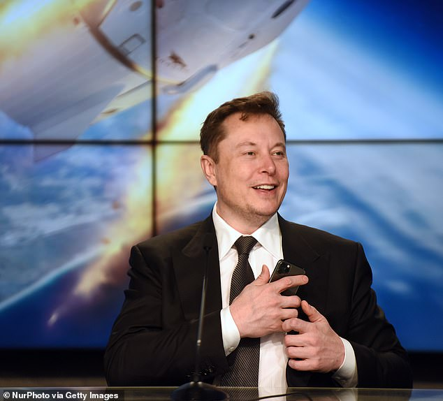 Breakthrough Partnership: SpaceX founder Elon Musk, depicted in January, said when his commercial spacecraft took NASA astronauts to the ISS earlier this year. Built a history in