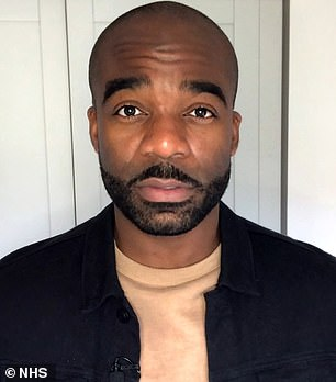 hit! As of Thursday evening, the app has been downloaded more than a million times by Android users, according to the Google Play Store (pictured Ore Oduba).