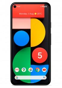 Just Black Google Pixel 5