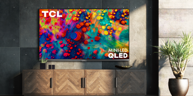 TCL's new 6-series QLED Roku TV comes with a mini LED backlight.