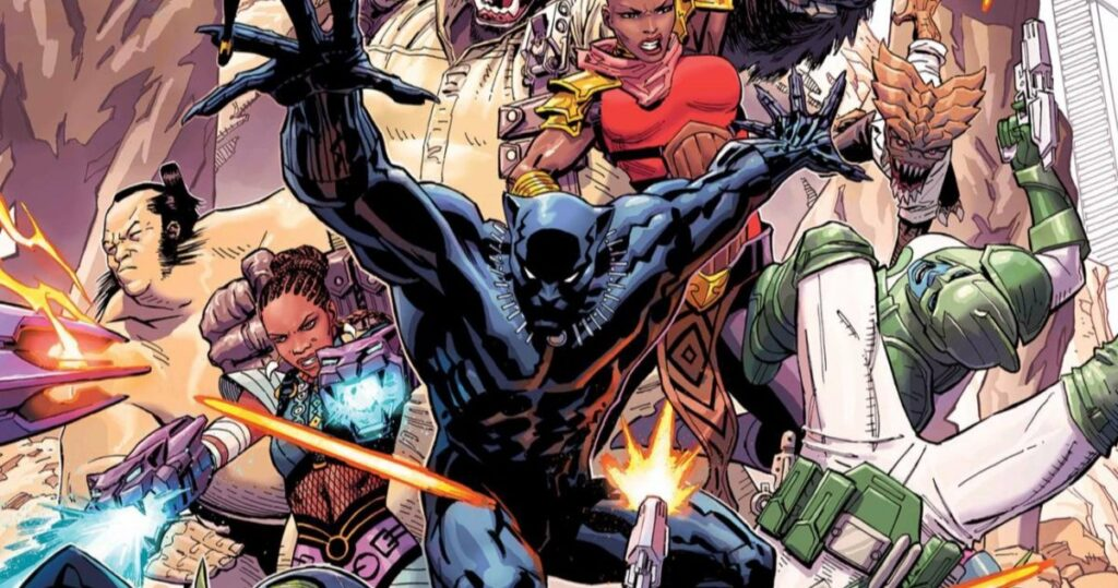 Over 200 Black Panther comic books are now available for free download