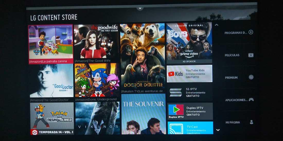 Download the LG Smart TV application