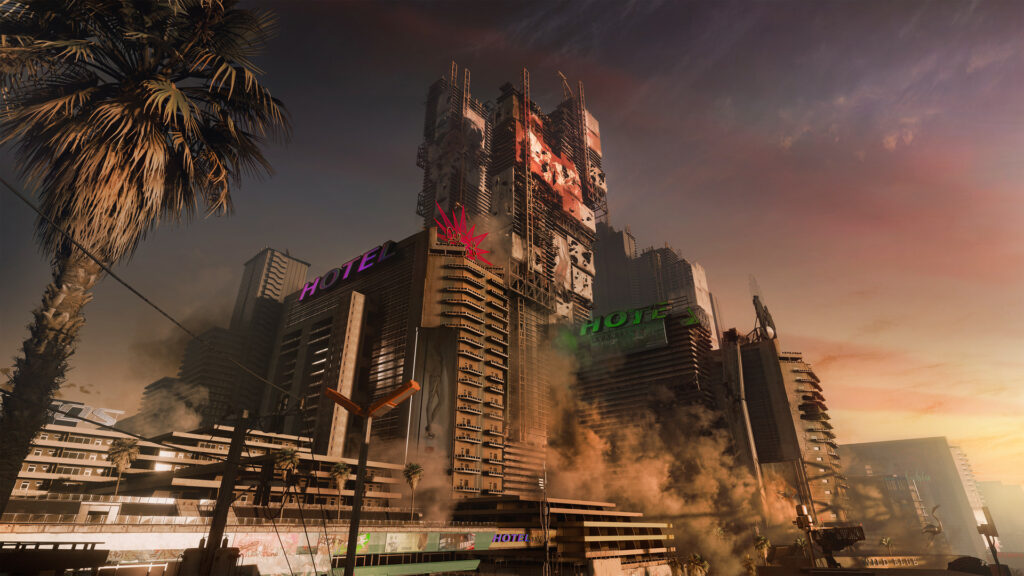 How big is the download and installation of Cyberpunk 2077?