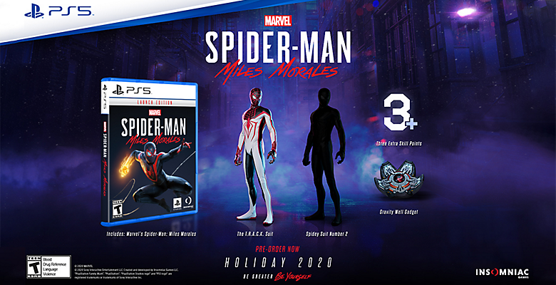 Marvel's Spider-Man: Miles Morales Track Suit PS5 PlayStation 5