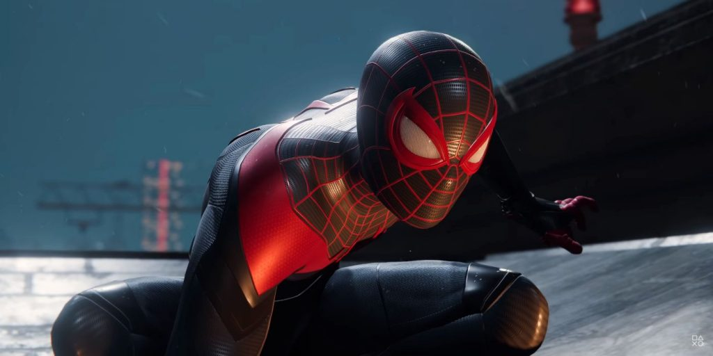 Miles Morales PS5 download size is smaller than PS4