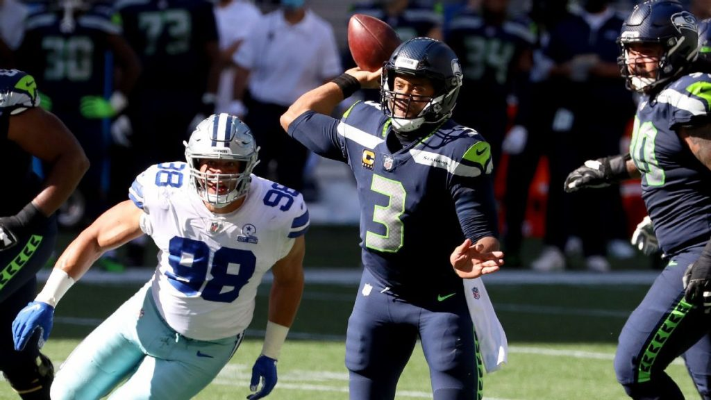 Russell Wilson defeats Patrick Mahomes in record 14th TD in the first three games