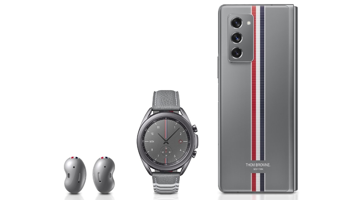Samsung Galaxy Z Fold 2 Thom Browne Edition Pricing Revealed Available For 3 299